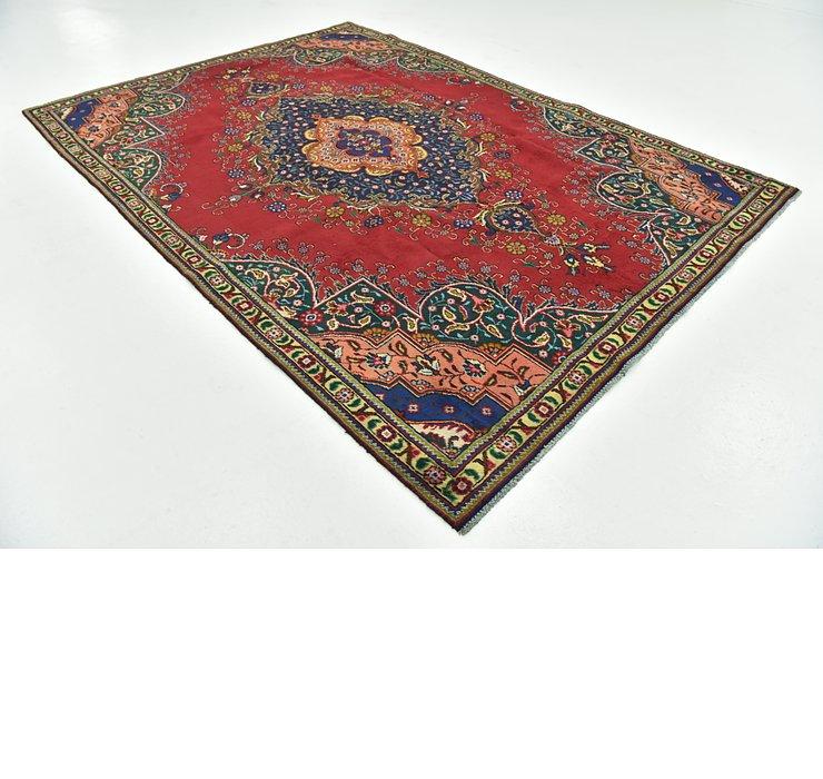 7' 4 x 10' 5 Tabriz Persian Rug