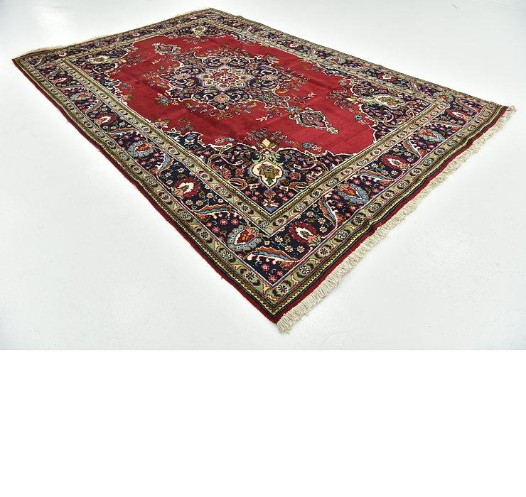 7' 6 x 11' 6 Tabriz Persian Rug