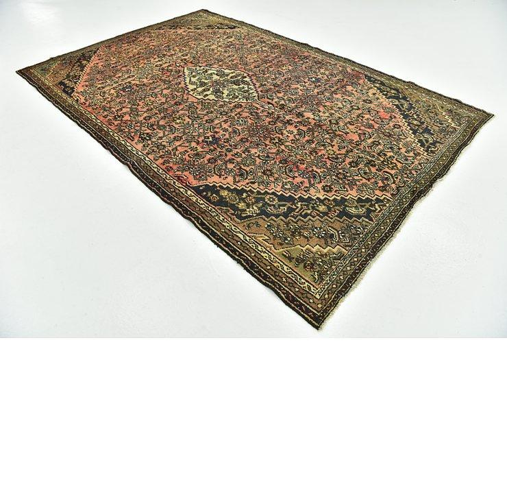 6' 7 x 10' 4 Hamedan Persian Rug