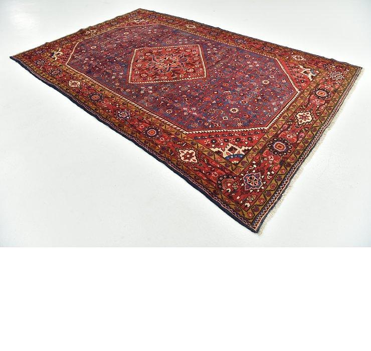 7' x 10' 10 Hossainabad Persian Rug