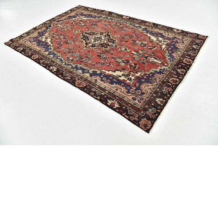 6' 1 x 9' 3 Hamedan Persian Rug