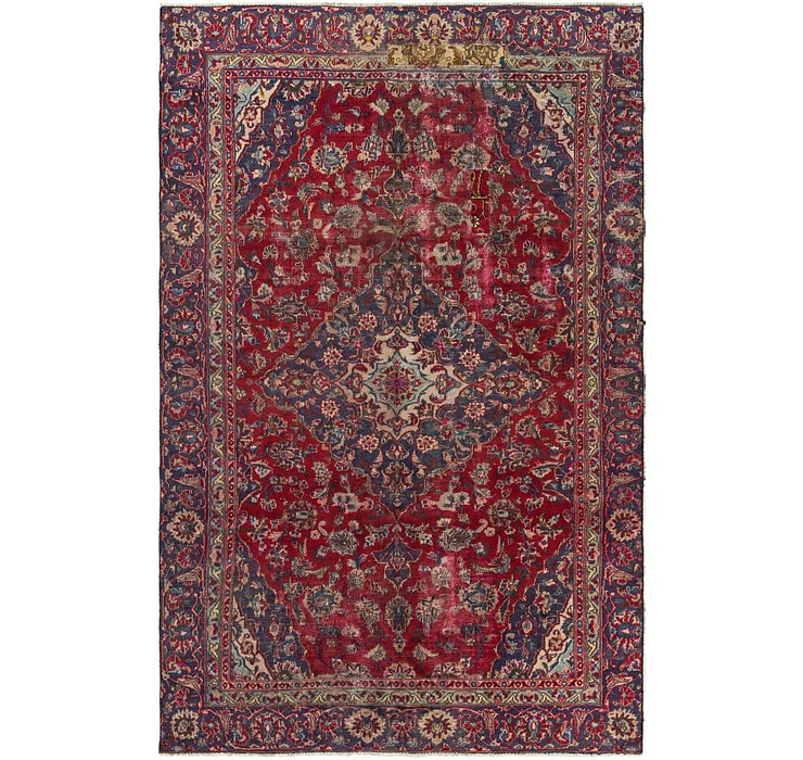 5' 6 x 8' 9 Mashad Persian Rug