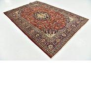 Link to 198cm x 290cm Mashad Persian Rug