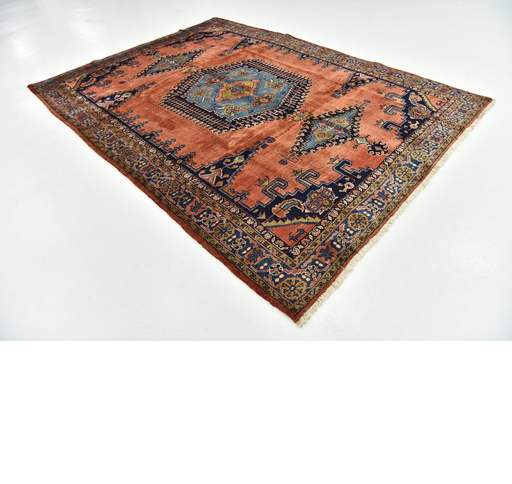 7' 7 x 10' 5 Viss Persian Rug