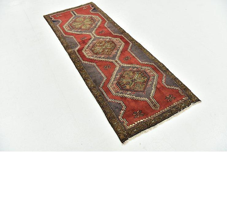 2' 6 x 6' 7 Zanjan Persian Runner Rug
