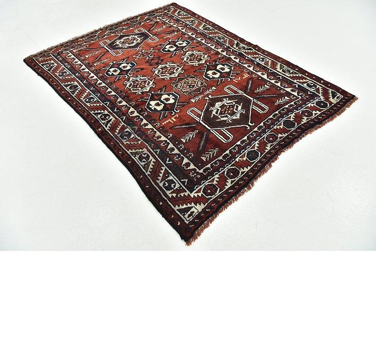 5' 8 x 7' Shiraz-Lori Persian Rug