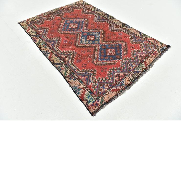 4' 3 x 6' 2 Ferdos Persian Rug