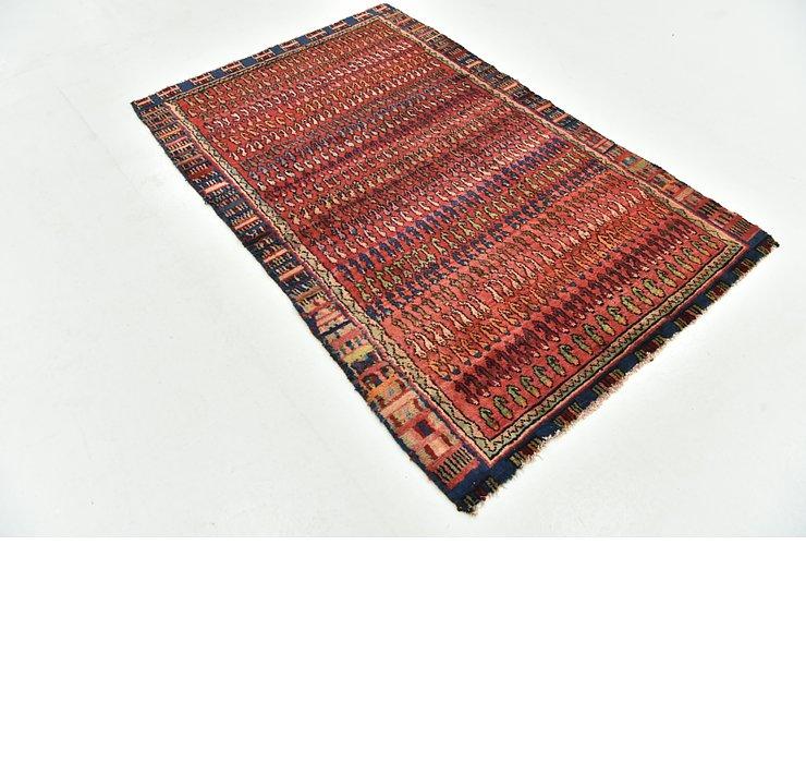3' 9 x 5' 10 Hamedan Persian Rug