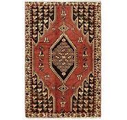 Link to 122cm x 193cm Mazlaghan Persian Rug