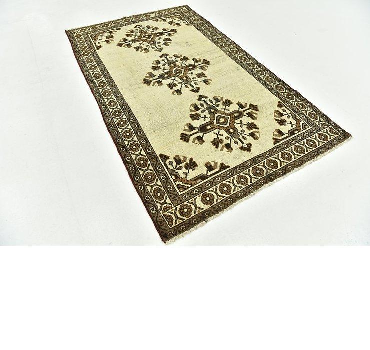 3' 10 x 6' 4 Ferdos Persian Rug
