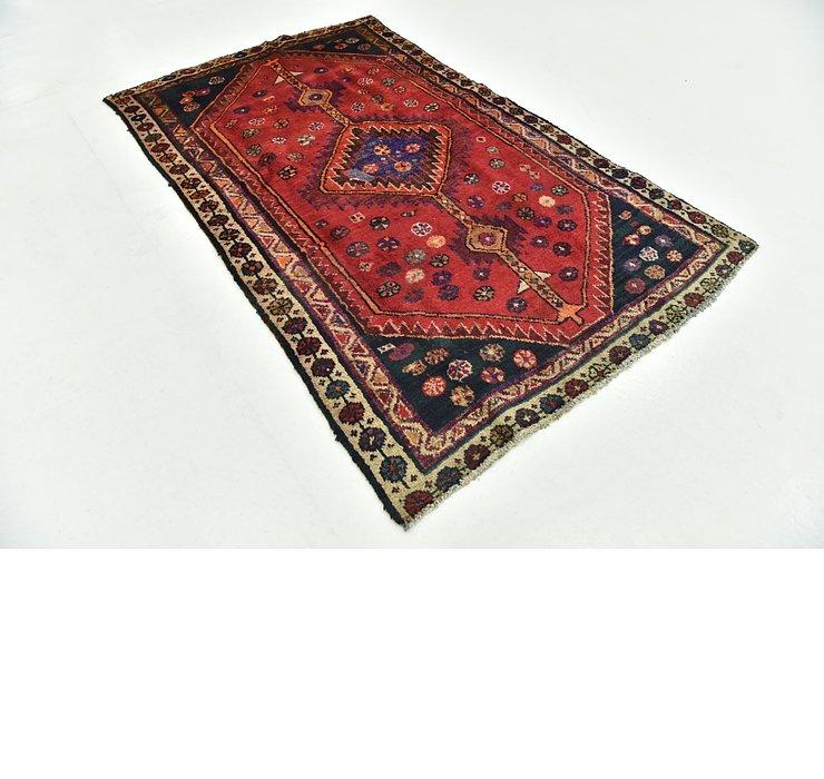 3' 9 x 6' 3 Hamedan Persian Rug