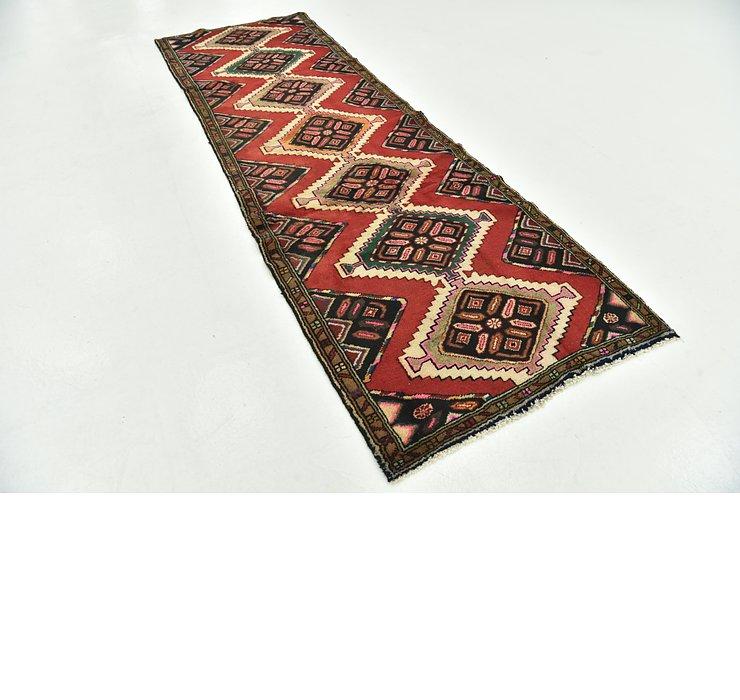 3' x 9' Chenar Persian Runner Rug
