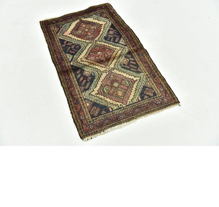 2' 5 x 3' 10 Chenar Persian Rug