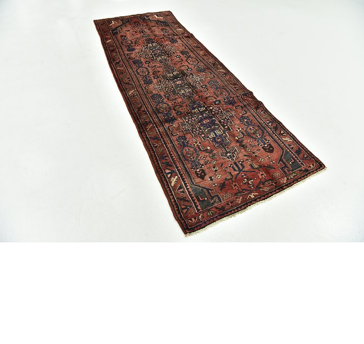 3' 5 x 9' 5 Khamseh Persian Runner ...
