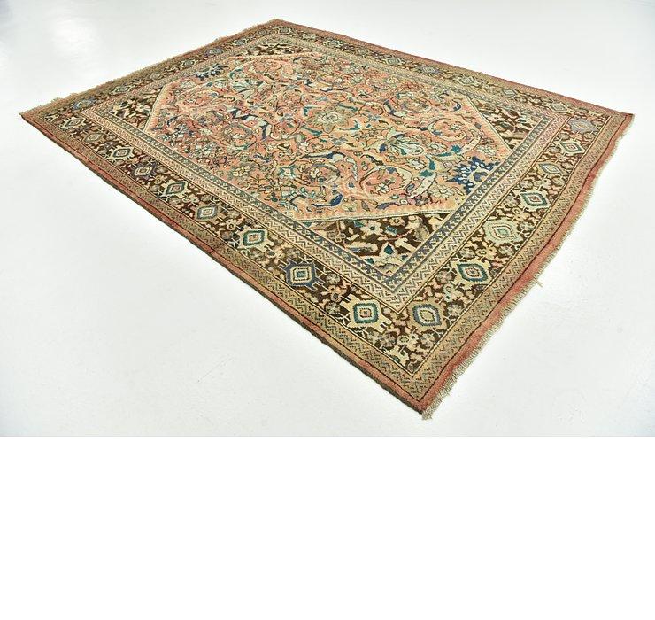 8' x 10' 6 Mahal Persian Rug
