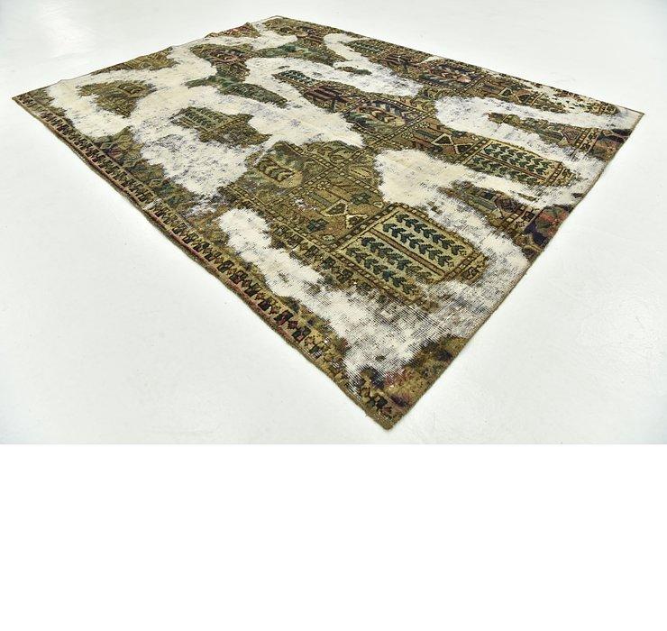 5' 7 x 7' 5 Ultra Vintage Persian Rug