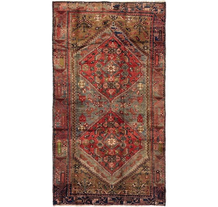 4' x 7' 2 Hamedan Persian Rug