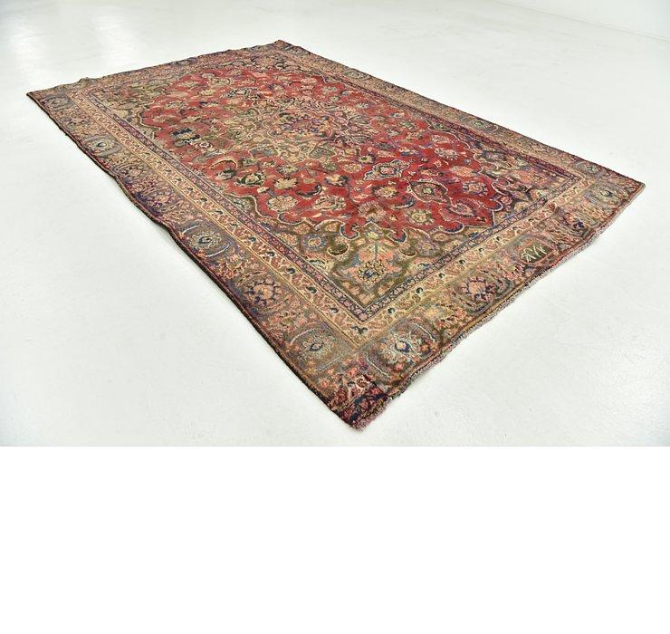 5' 7 x 8' 5 Mashad Persian Rug