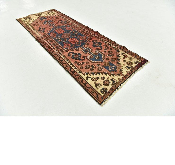 2' 1 x 5' 7 Hamedan Persian Rug