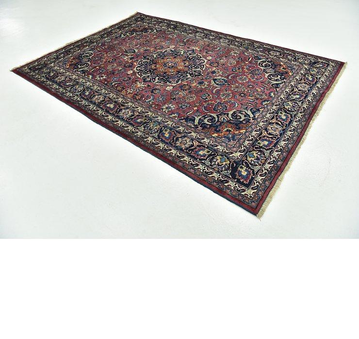 6' 9 x 9' 7 Mashad Persian Rug