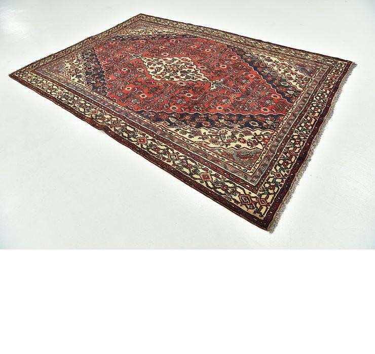 6' 5 x 9' 2 Hamedan Persian Rug