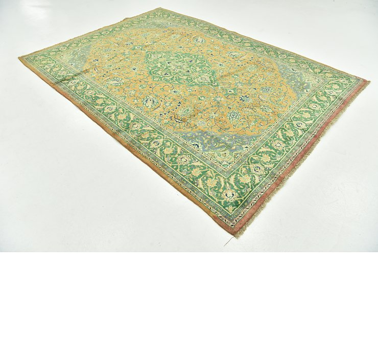 6' 9 x 9' 5 Sarough Persian Rug