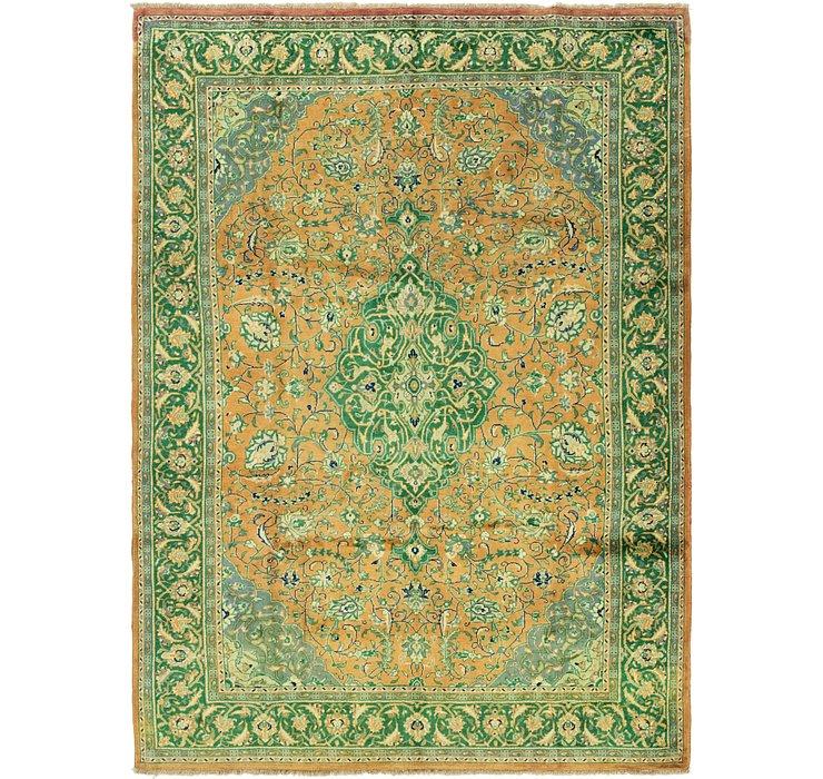 6' 9 x 9' 5 Sarough Persian Rug