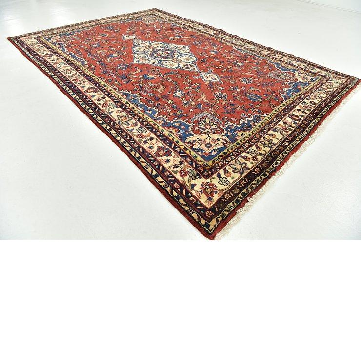 6' 8 x 10' 2 Hamedan Persian Rug