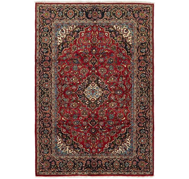 6' 8 x 10' 2 Kashan Persian Rug