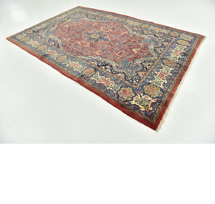 213cm x 335cm Sarough Persian Rug