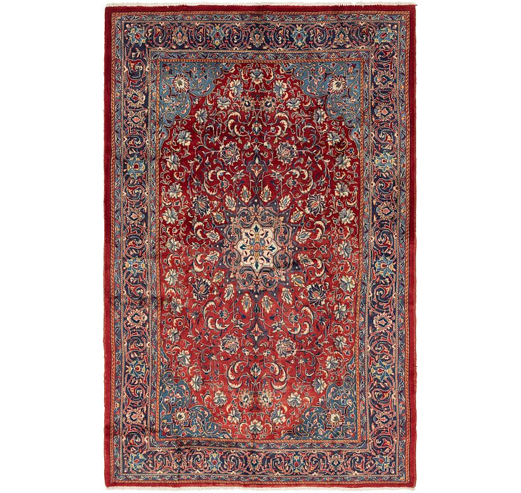 6' 10 x 10' 8 Sarough Persian Rug