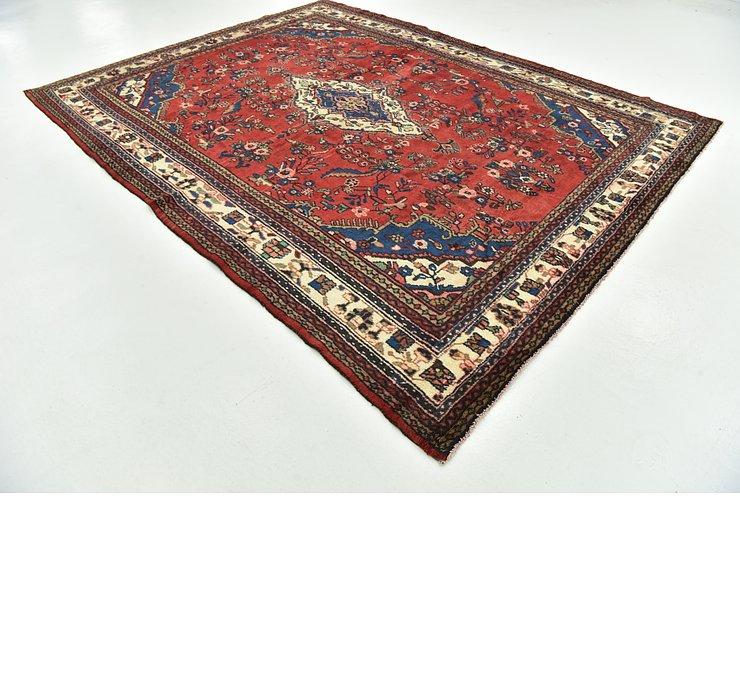 257cm x 345cm Hamedan Persian Rug