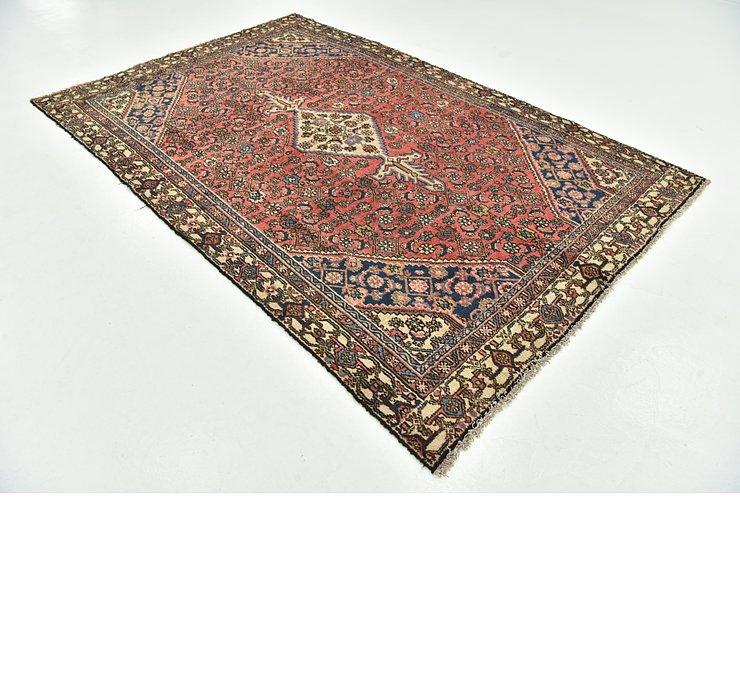 6' 2 x 9' 3 Hamedan Persian Rug