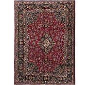 Link to 198cm x 270cm Mashad Persian Rug