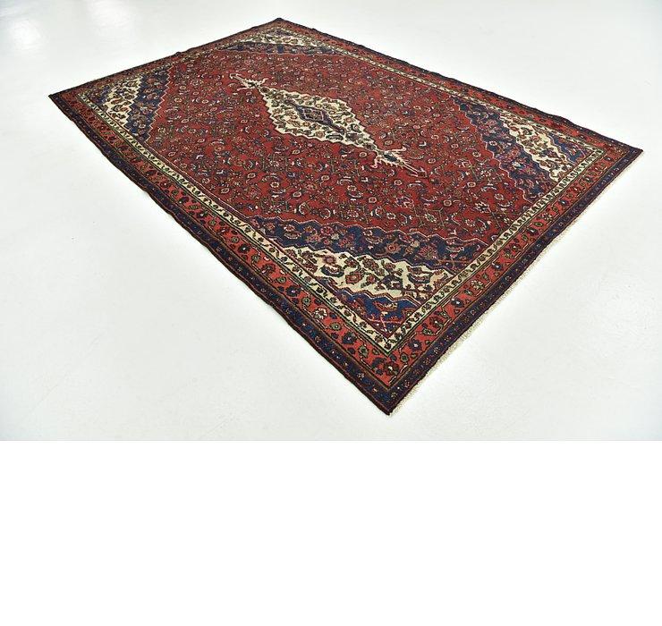 6' 6 x 9' 10 Hamedan Persian Rug