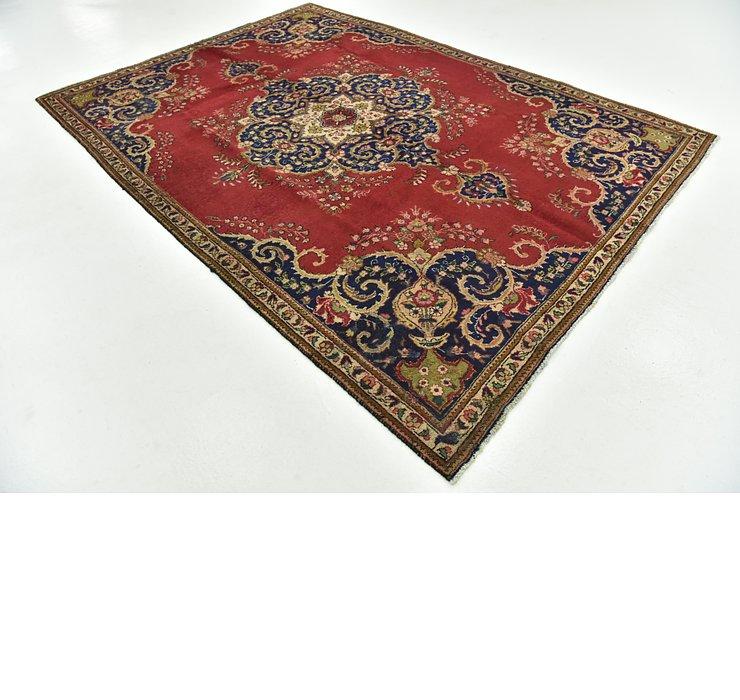 7' 3 x 10' 5 Tabriz Persian Rug