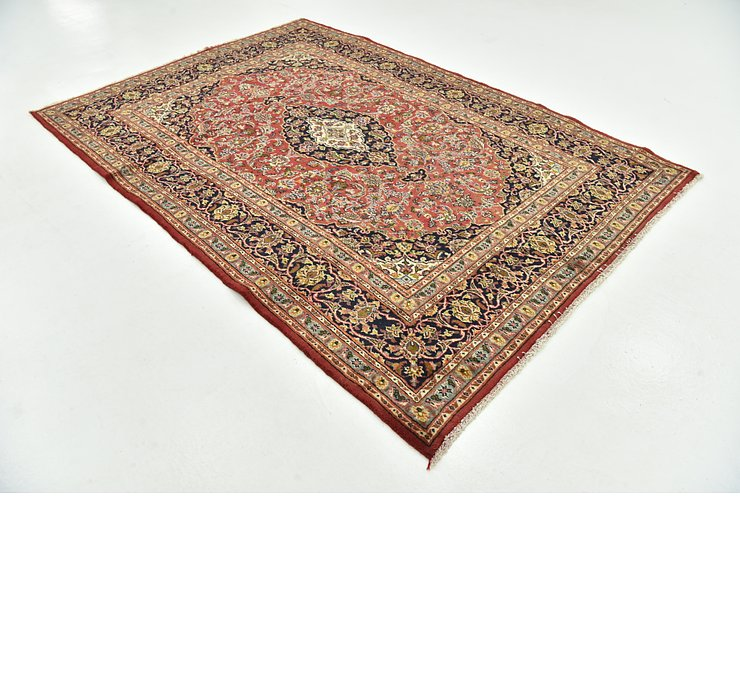 195cm x 280cm Mashad Persian Rug