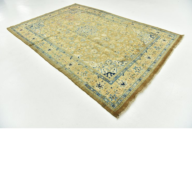 7' 3 x 10' 10 Mashad Persian Rug