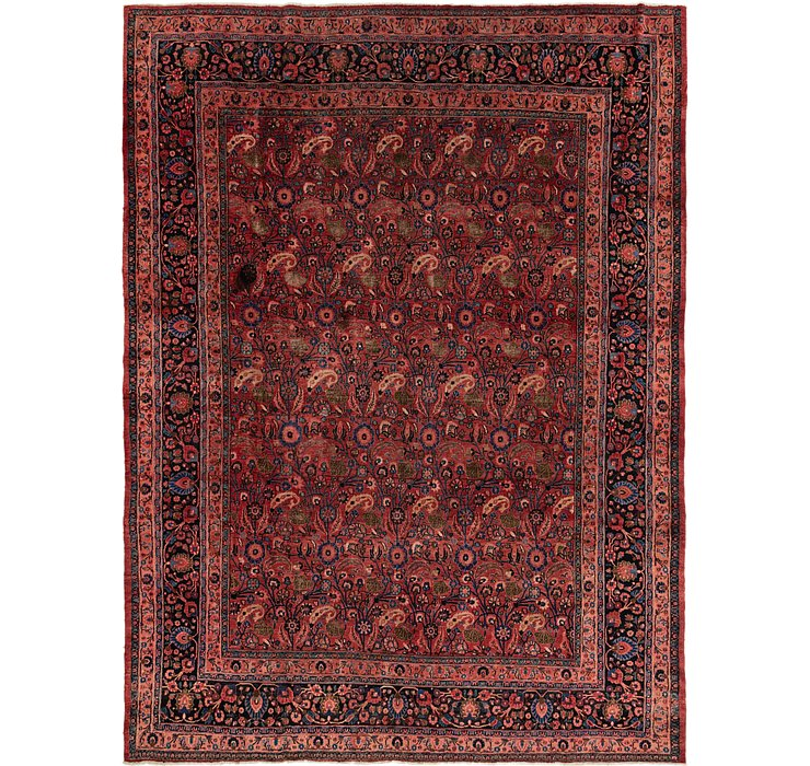 10' 2 x 13' 9 Birjand Persian Rug
