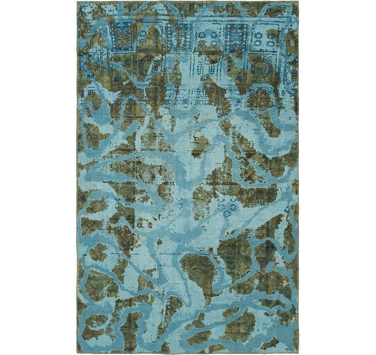 5' 6 x 8' 10 Ultra Vintage Persian Rug