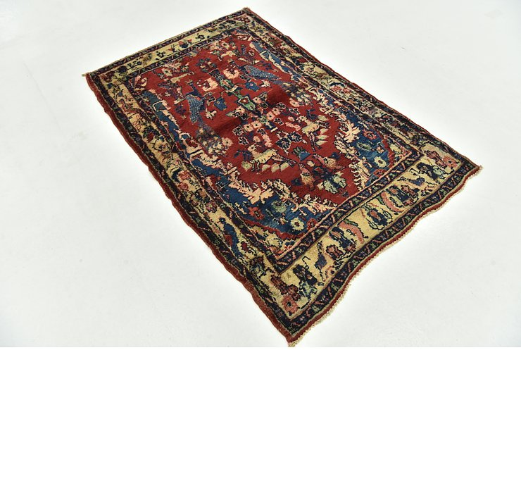3' 3 x 5' Hamedan Persian Rug