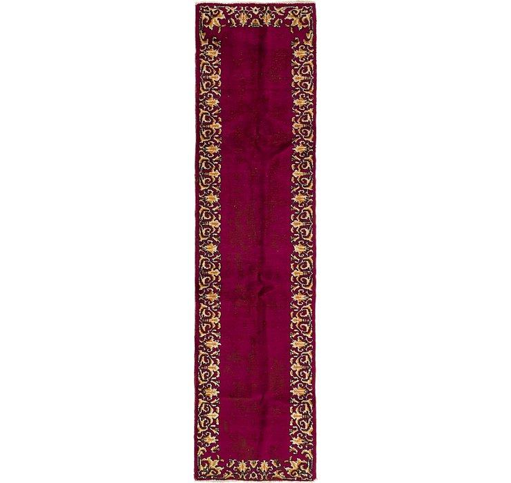 3' x 12' 2 Tabriz Persian Runner Rug