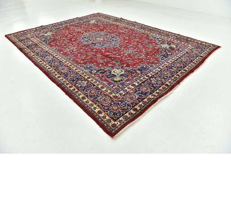 9' 7 x 12' 10 Mashad Persian Rug