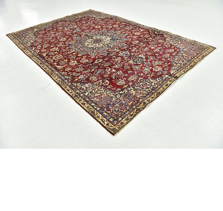 7' x 10' 6 Isfahan Persian Rug