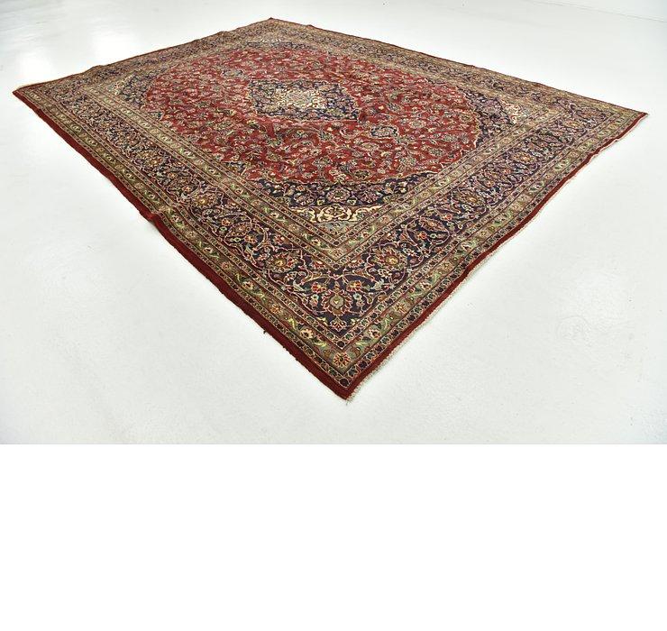 9' 4 x 12' 7 Mashad Persian Rug