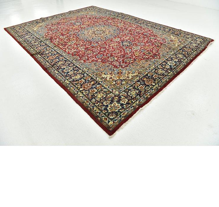 9' 7 x 12' 3 Isfahan Persian Rug