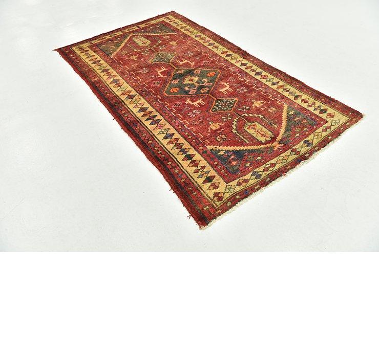 4' x 7' Shiraz-Lori Persian Rug