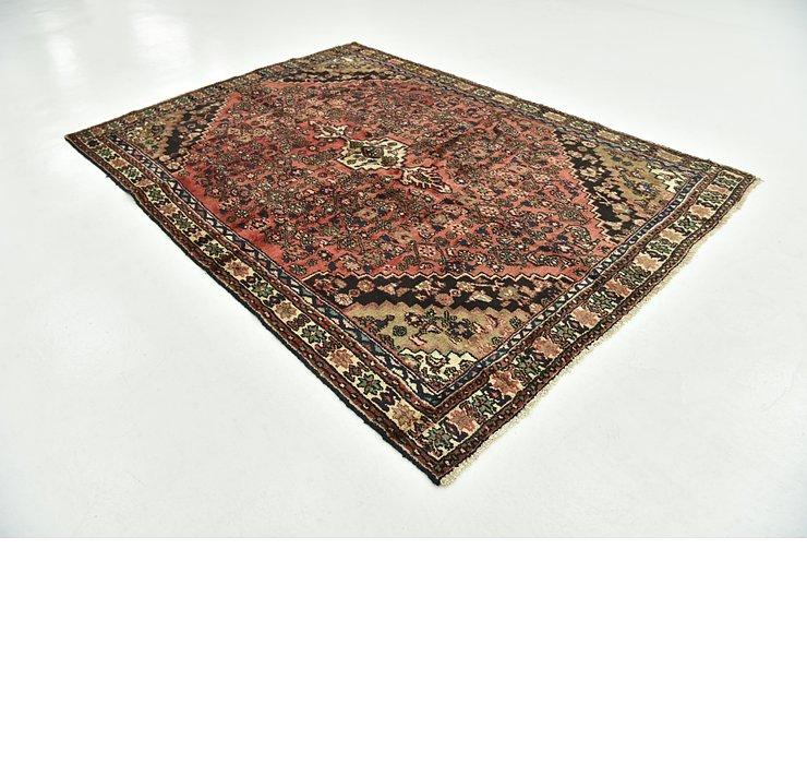 6' 5 x 9' 1 Hamedan Persian Rug