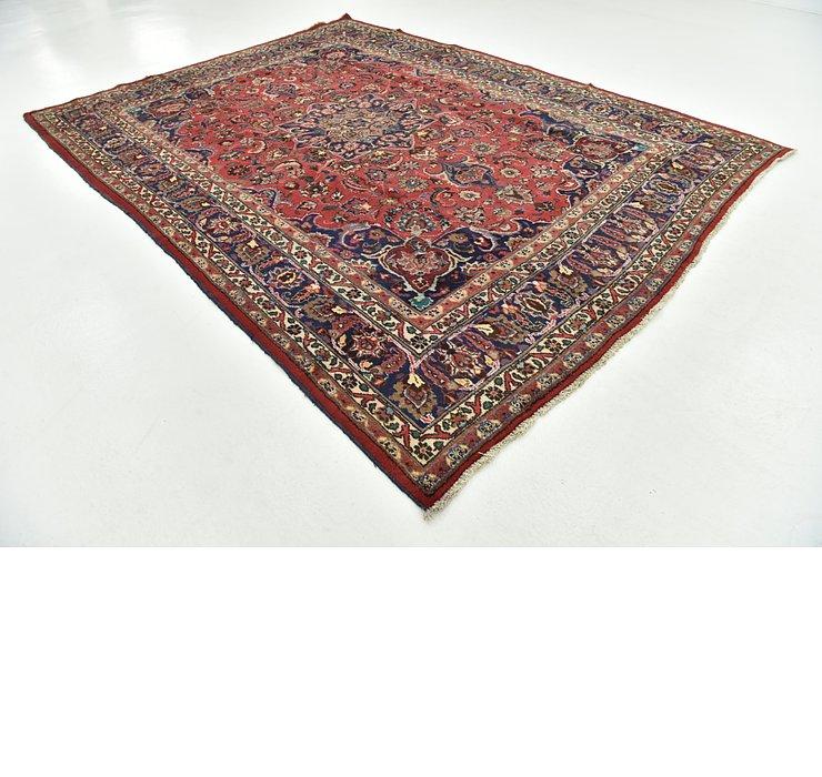 257cm x 343cm Mashad Persian Rug