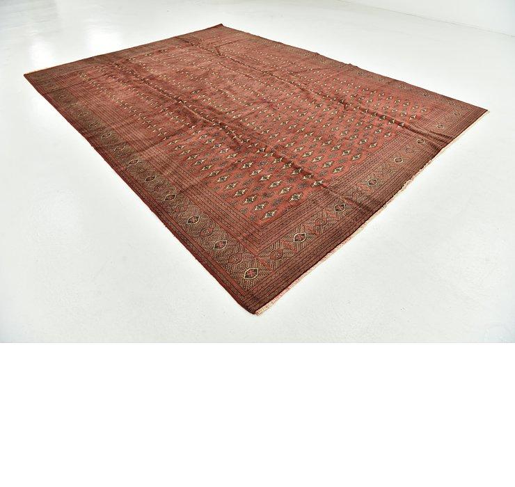 8' 9 x 11' 10 Torkaman Persian Rug